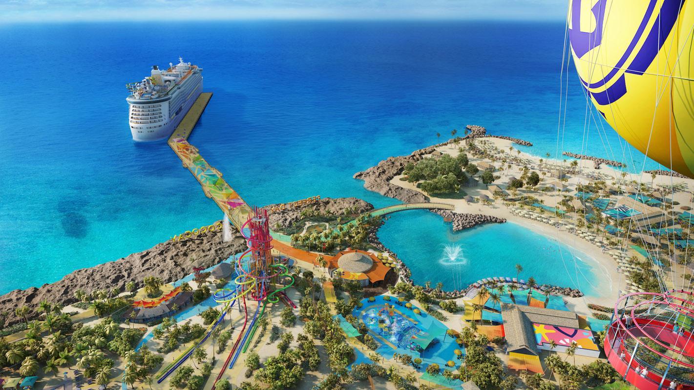 Dicas de CocoCay, a ilha particular da Royal Caribbean que ganhará um upgrade milionário